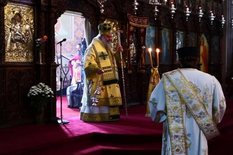 Εορτή του Αγίου Πνεύματος στη Μητρόπολη Λεμεσού