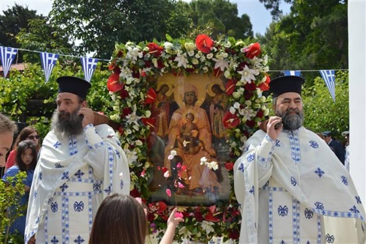 Λαμπρά εορτάστηκε η Παναγία Φανερωμένη Λευκάδας