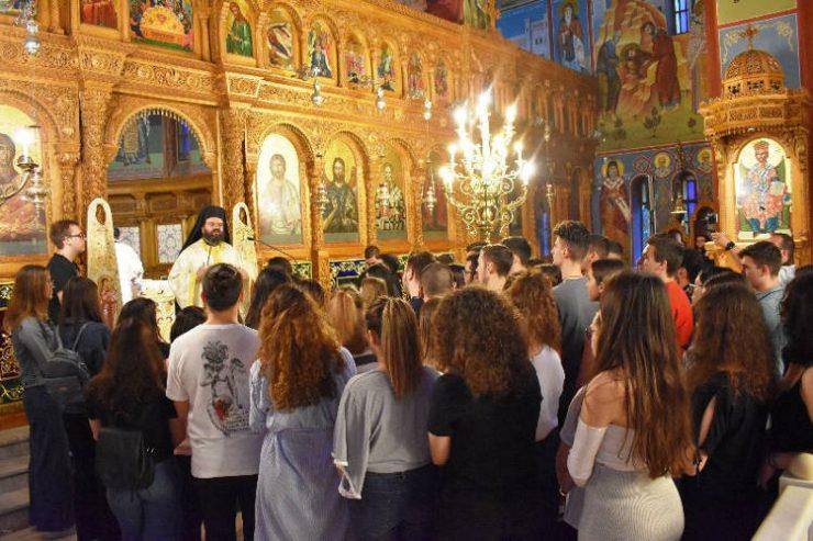 Εσπερινή Αρχιερατική Θεία Λειτουργία για τους μαθητές