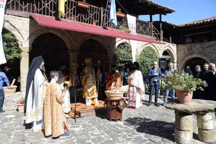 Εορτή Αγίων Πάντων στη Μονή Τριταίας