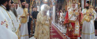 Δισαρχιερατική Θεία Λειτουργία στο χωριό Δωροθέα Αριδαίας