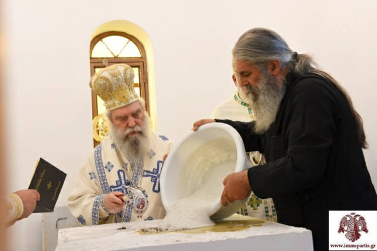 Εγκαίνια Ιερού Ναού Αγίου Παϊσίου στη Μητρόπολη Σπάρτης