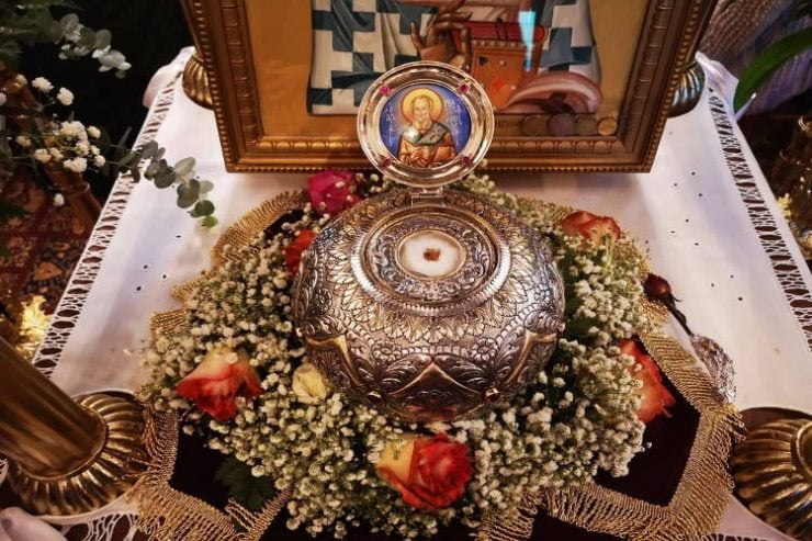 Προσκύνηση Λειψάνου Αγίου Λουκά του Ιατρού στη Μητρόπολη Τρίκκης