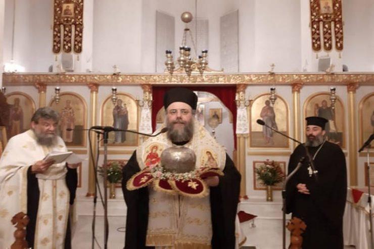 Εγκώμια στον Άγιο Λουκά τον Ιατρό στη Μητρόπολη Τρίκκης