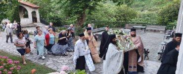 Εορτή Συνάξεως Παναγίας της Οδηγήτριας της Γκούρας στην ομώνυμη Μονή των Τρικάλων