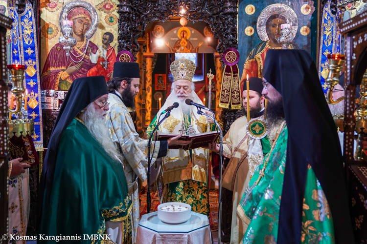 Εορτάστηκε η Σύναξη πάντων των διαλαμψάντων Αγίων της Σκήτης Βεροίας (ΦΩΤΟ)