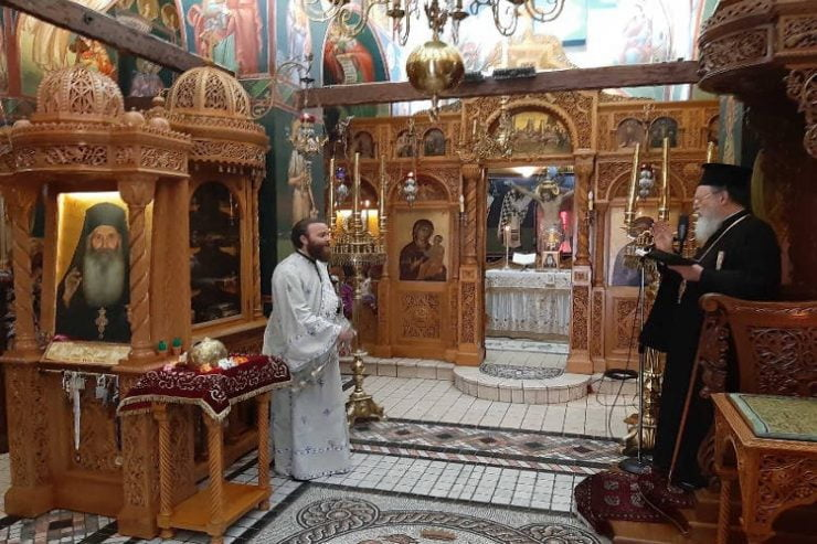 Περιοδεία του Μητροπολίτου Χαλκίδος στην Βόρεια Εύβοια
