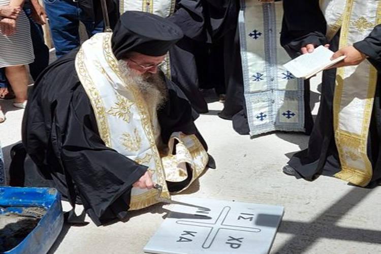 Νέος Ιερός Ναός των Παμμεγίστων Ταξιαρχών στη Χίο