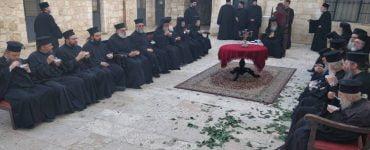Εορτή των Αγίων Κωνσταντίνου και Ελένης στο Πατριαρχείο Ιεροσολύμων