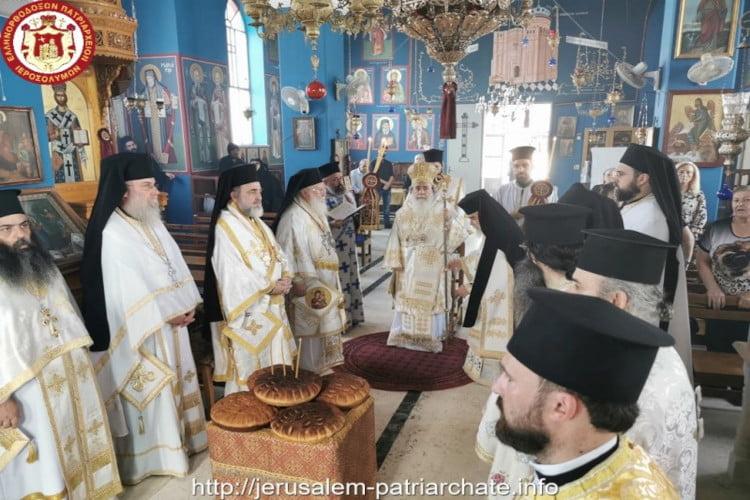 Η Εορτή του Προφήτου Ελισσαίου στο Πατριαρχείο Ιεροσολύμων