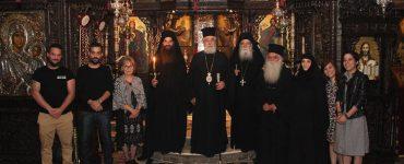 Δυο νέοι μεγαλόσχημοι μοναχοί στη Μονή Τρικόρφου