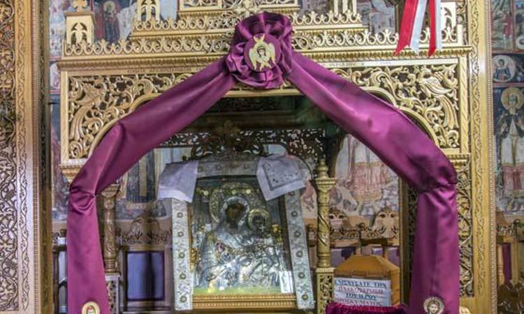 Υποδοχή Παναγίας Δεμερλιωτίσσης στην Καρδίτσα