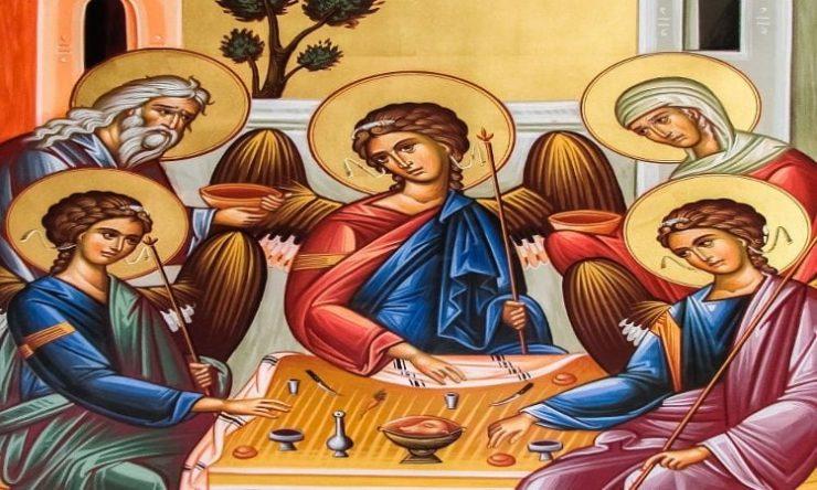 Πανήγυρις Αγίου Πνεύματος στην Ιερά Μονή Αγίου Νικολάου παρά την Ορούντα Πανήγυρις Αγίας Τριάδας Πετρουπόλεως