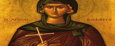 Αγρυπνία Αγίας Ειρήνης Χρυσοβαλάντου στο Αγγελοχώρι Θεσσαλονίκης