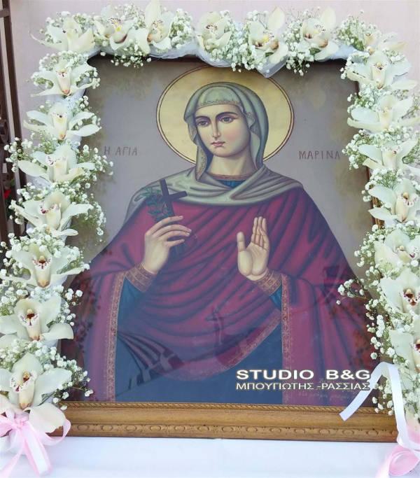 Η Εορτή της Αγίας Μαρίνας στο Κάστρο του Άργους (ΦΩΤΟ)