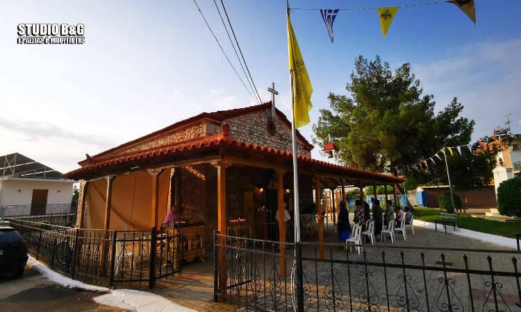 Εορτή Αγίας Κυριακής στη Μητρόπολη Αργολίδος (ΦΩΤΟ)