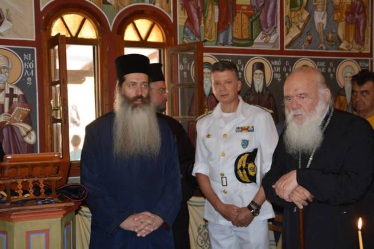 Την Αγία Μαρίνα τίμησε ο Αρχιεπίσκοπος Ιερώνυμος