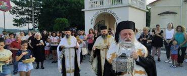 Λιτανεία της Τιμίας Κάρας του Οσίου Νικάνορος στα Γρεβενά