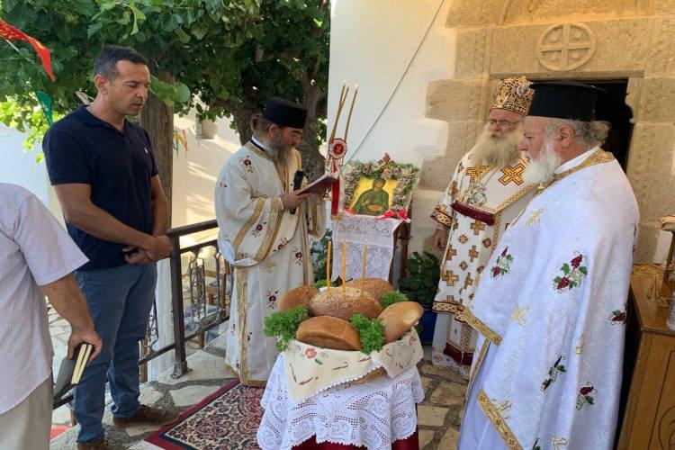 Επιμνημόσυνη δέηση για τους σφαγιασθέντες Σκαλιώτες μάρτυρες στη Μητρόπολη Ιεραπύτνης