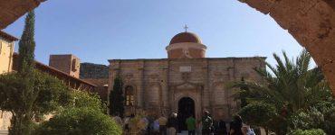 Αγρυπνία στην Ιερά Μονή Γουβερνέτου