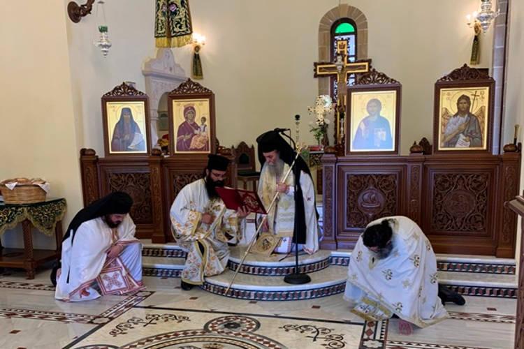 Εορτή Οσίου Παϊσίου στο προσκύνημα του Οσίου Νικηφόρου του Λεπρού
