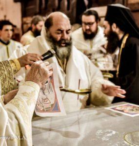 Ακολουθία επί τη διασαλεύση της Αγίας Τραπέζης στον Προφήτη Ηλία Ασσήρου (ΦΩΤΟ)