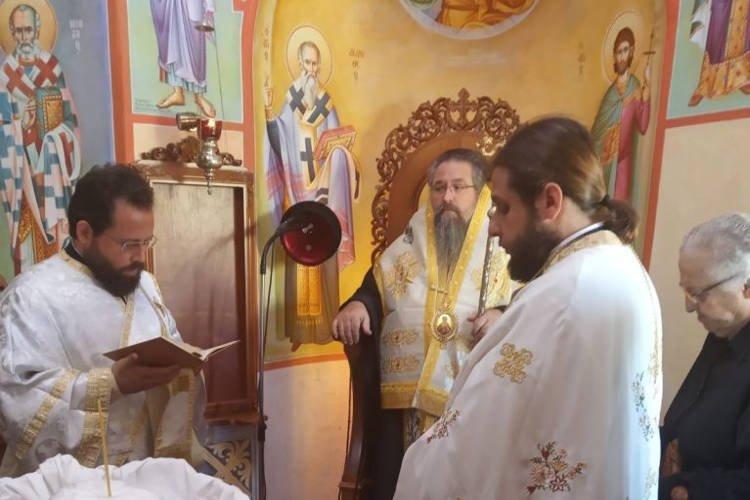 Εορτή Οσίου Θεοφίλου του Μυροβλύτου στη Μητρόπολη Λευκάδος