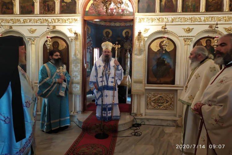 Εορτή Αγίου Νικοδήμου του Αγιορείτου στην Πάτρα