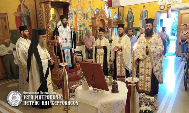 Πέτρας Γεράσιμος: Ο Άγιος Ραφαήλ είναι ένας από τους μεγάλους νεομάρτυρες