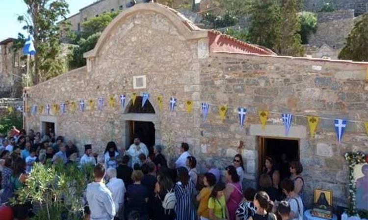 Πανήγυρις Αγίου Παντελεήμονος νήσου Σπιναλόγκας
