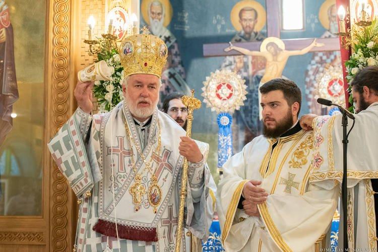 Ο Μητροπολίτης Βελγίου στον Άγιο Μάρκο Πατησίων και χειροτονία Διακόνου