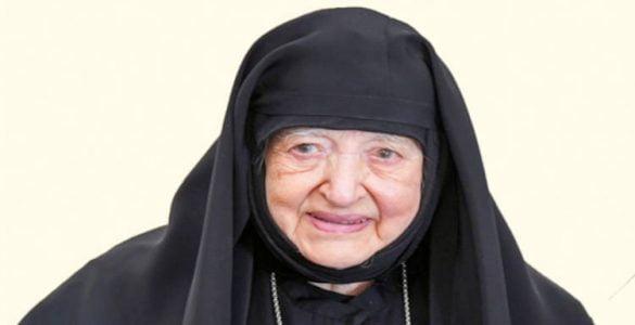 Εκοιμήθη η Καθηγουμένη της Μονής Αγίας Κυριακής Λουτρού Φιλοθέη Μοναχή