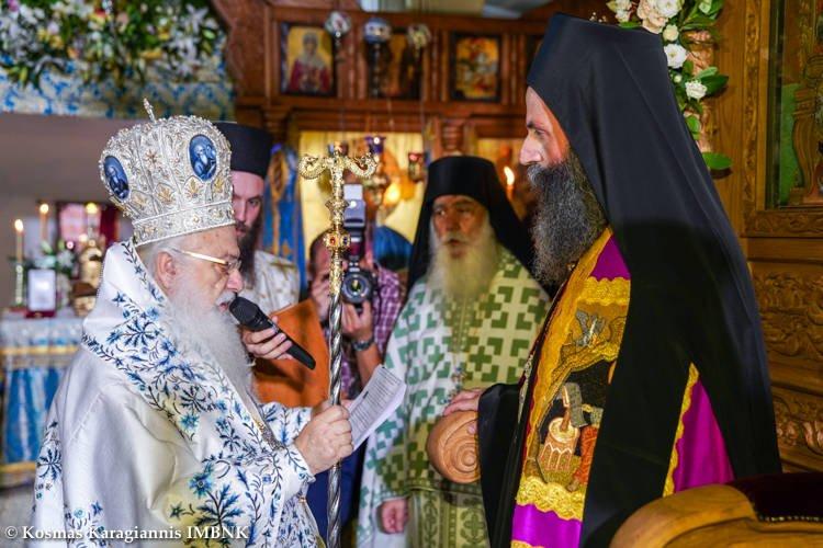 Ενθρόνιση Καθηγουμένου της Ιεράς Μονής Παναγίας Καλλίπετρας Αρχιμ. Παλαμά Καλλιπετρίτη (ΦΩΤΟ)