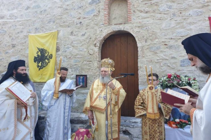Εγκαίνια Ιερού Ναού Παναγίας Χιλιαδούς Διρφύων