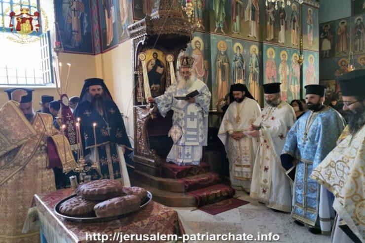 Η Εορτή του Γενεσίου του Τιμίου Προδρόμου στο Πατριαρχείο Ιεροσολύμων