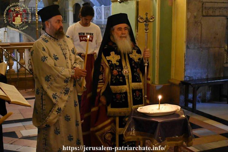 Τεσσαρακονθήμερο Μνημόσυνο Αγιοταφιτών Πατέρων