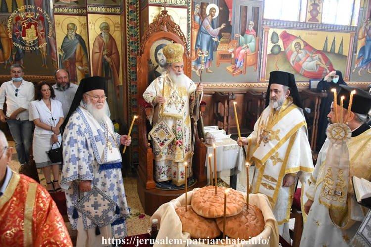 Εορτή Πρωτοκορυφαίων Αποστόλων στο Πατριαρχείο Ιεροσολύμων
