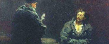 Γεροντικό: Ο άθεος και η γριούλα