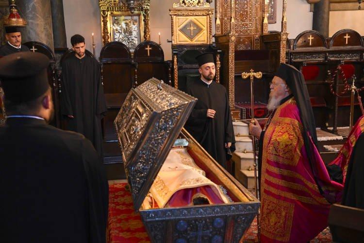 Εορτή Αγίας Ευφημίας στο Οικουμενικό Πατριαρχείο (ΦΩΤΟ)