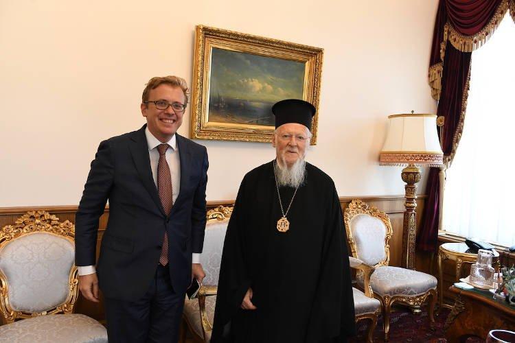 Ο Γενικός Πρόξενος της Γαλλίας στο Οικουμενικό Πατριαρχείο