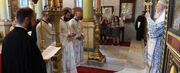 Χειροτονία νέου Πρεσβυτέρου από τον Οικουμενικό Πατριάρχη (ΦΩΤΟ)