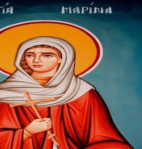 Πανήγυρις Αγίας Μαρίνης στη Λάρισα