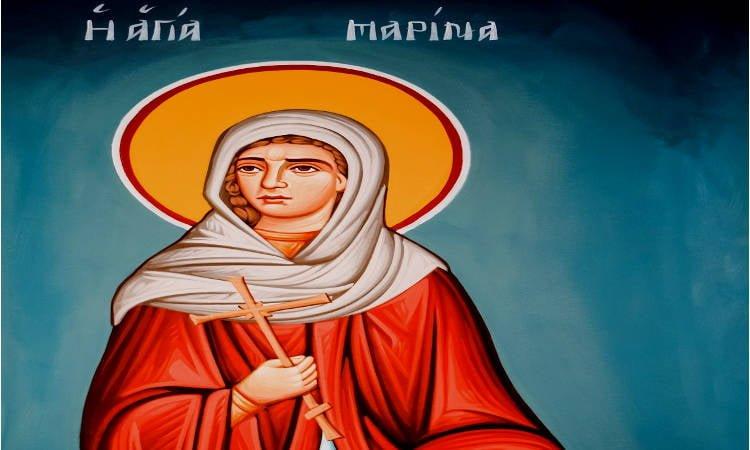 Πανήγυρις Αγίας Μαρίνης στη Λάρισα Πανήγυρις Αγίας Μαρίνας στη Νεκρή Ζώνη Κύπρου