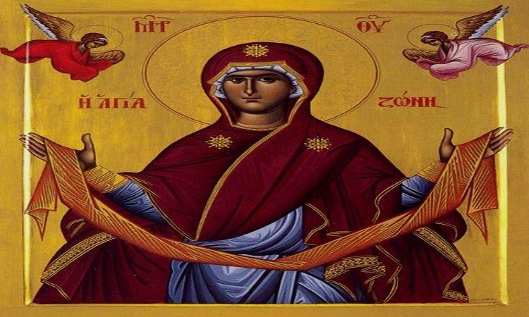 Αγρυπνία Αγίας Ζώνης στην Έδεσσα Κατάθεση της Τιμίας Ζώνης της Θεοτόκου