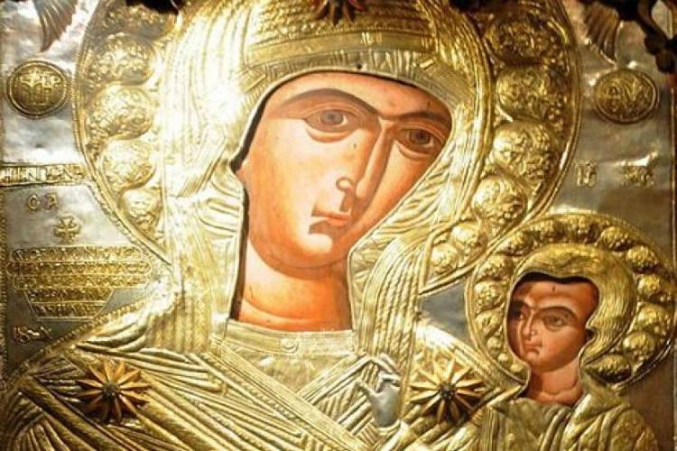 Αγρυπνία Παναγίας Προυσιώτισσας στην Ευκαρπία Θεσσαλονίκης Παναγία Προυσιώτισσα