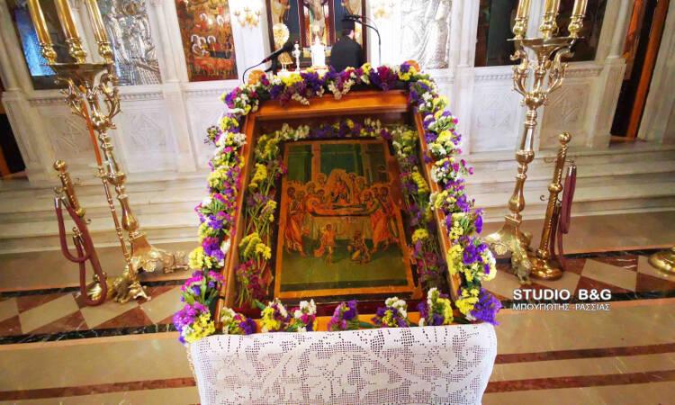 Πρώτη παράκληση στην Θεοτόκο στην Ευαγγελίστρια Ναυπλίου (ΦΩΤΟ)