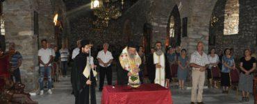 Αγιασμός - Θυρανοίξια και Παράκληση στην Παναγία Πετρούσας