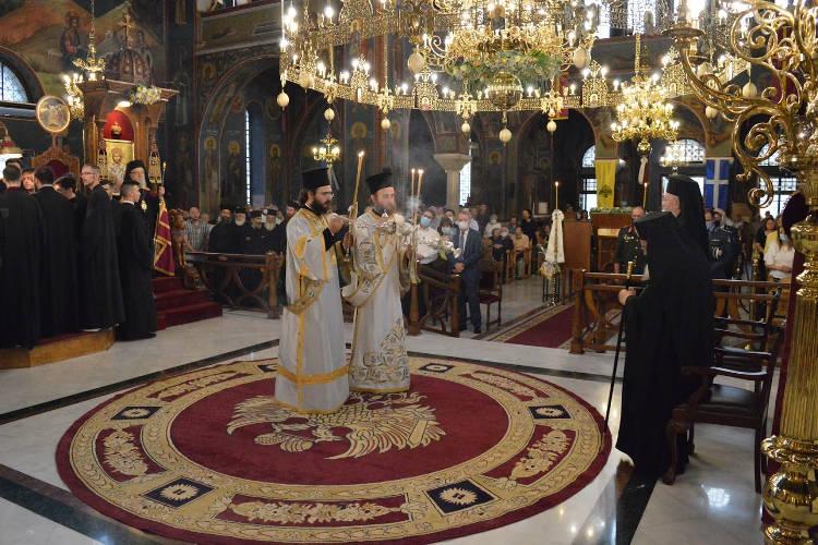 Πρώτος Πανηγυρικός Εσπερινός Αγίου Καλλινίκου στην Έδεσσα (ΦΩΤΟ)
