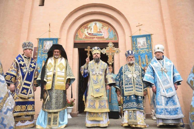 Η εορτή της Κοιμήσεως της Θεοτόκου στο Κίεβο