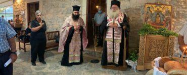 Ο τελευταίος Παρακλητικός Κανόνας στην Παναγία Κοτσυφιανή